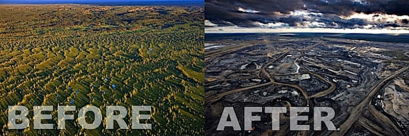 deforestation due to mining